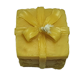 pure beeswax candle - small parcel