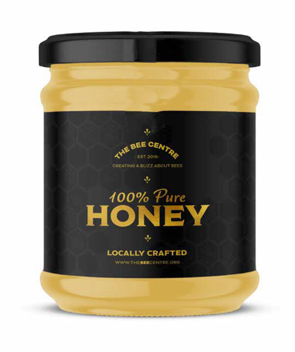 Rapeseed honey - Pure, raw Lancashire honey from The Bee Centre